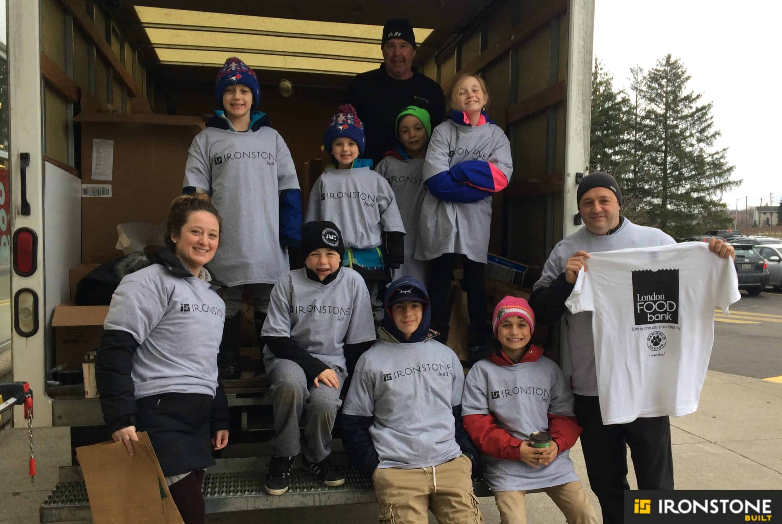 Photo of Business Cares Company Food Drive 2016