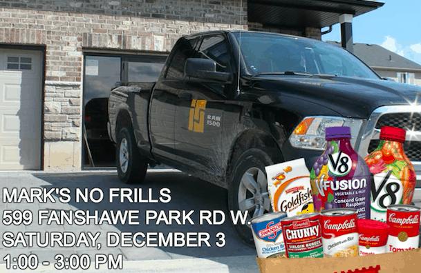 Image of Ironstone & No Frills Food Drive 2016