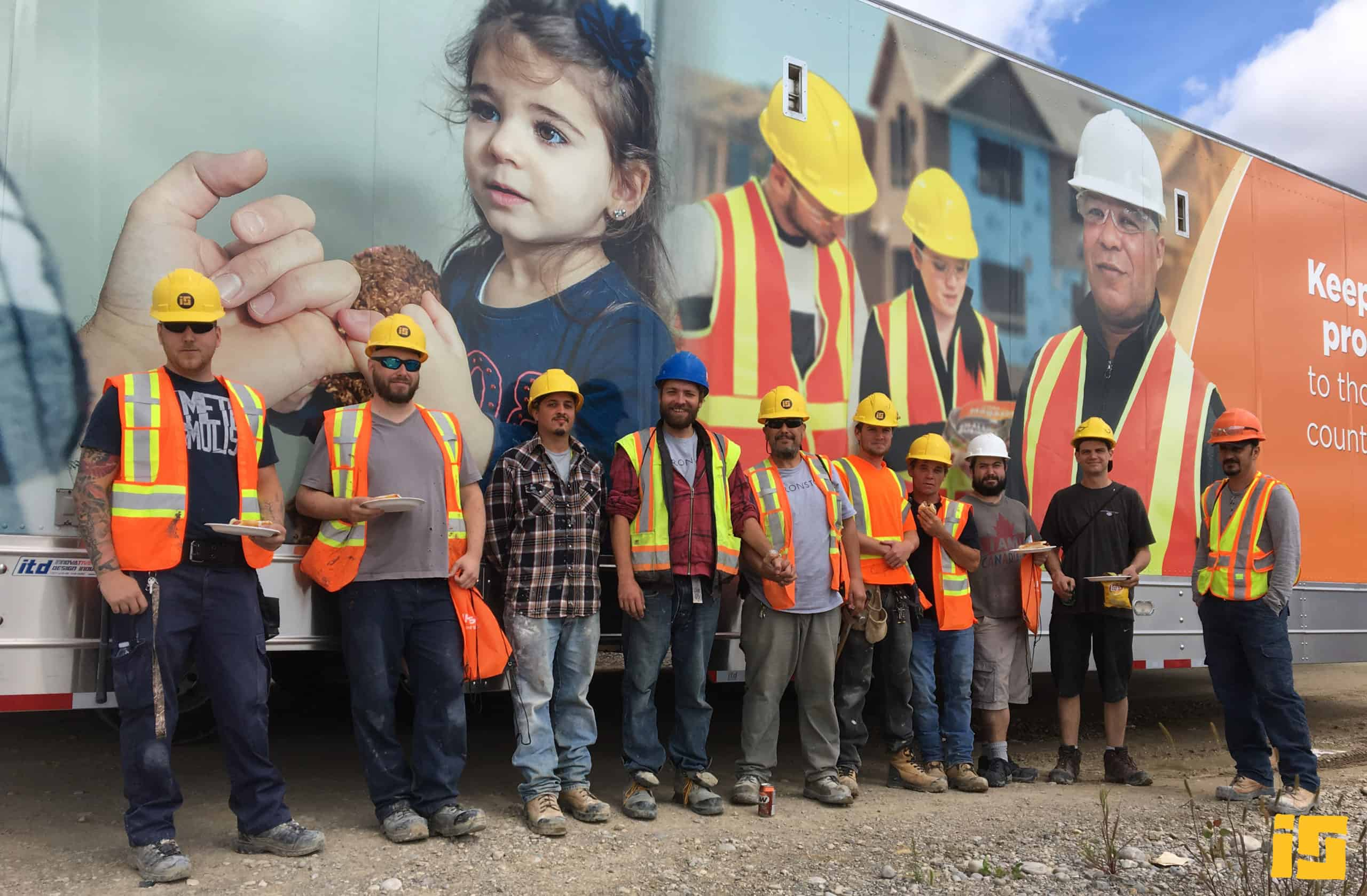 Photo of Ironstone Construction Workers