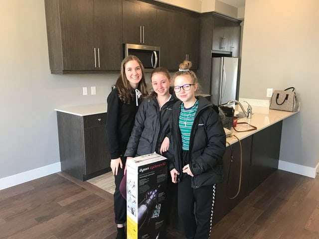 New Family in VIBE Townhomes