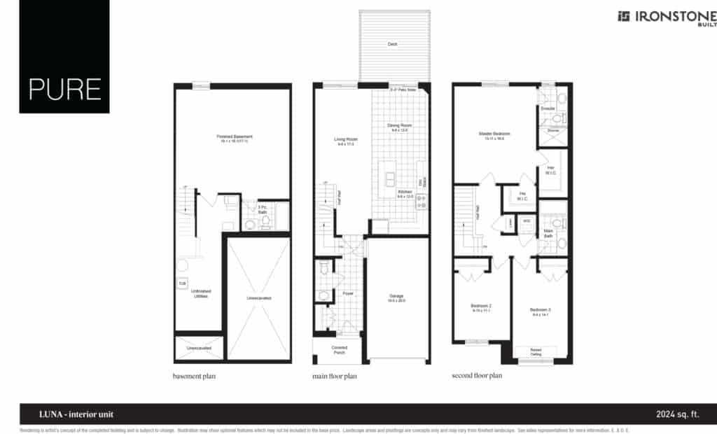 Luna - Interior Unit Floor Plan